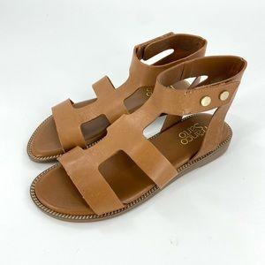 Franco Sarto Genevia T-Strap Gladiator Sandals